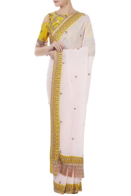 Latest Collection of Saris by Rajat k Tangri