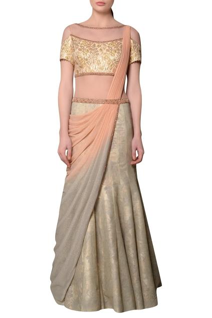 Latest Collection of Saris by Mandira Wirk