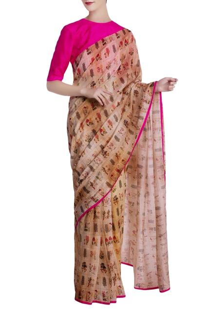 Latest Collection of Saris by Masaba