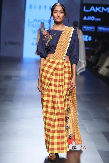 Latest Collection of Saris by Divya Sheth
