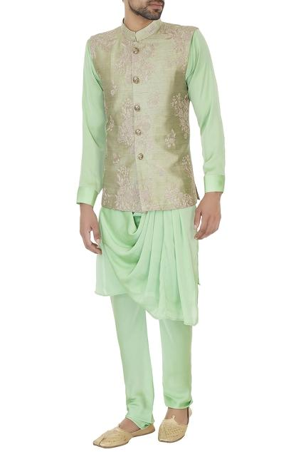 Latest Collection of Nehru Jackets by Komal Sood - Men