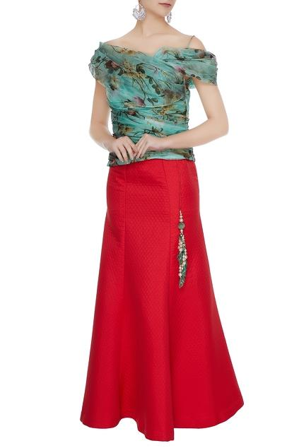 Latest Collection of Skirt Sets by Bhairavi Jaikishan
