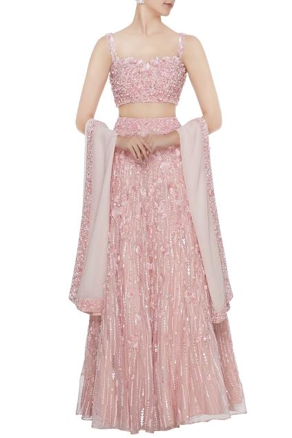 Latest Collection of Lehengas by Nadine Dhody