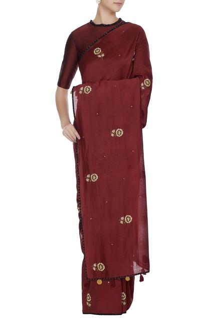 Latest Collection of Saris by Khadijeh