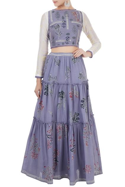 Latest Collection of Skirt Sets by Poonam Dubey