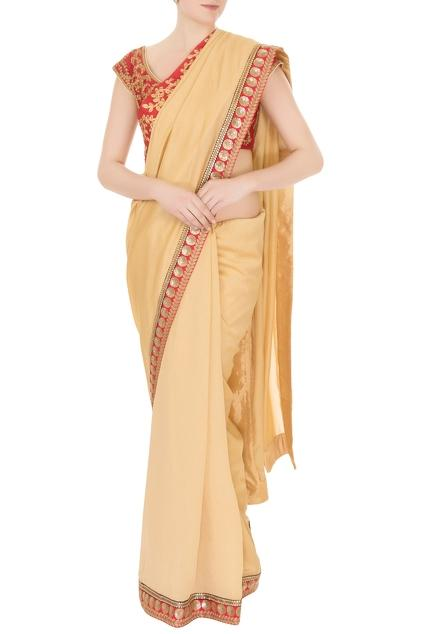 Latest Collection of Saris by Aharin