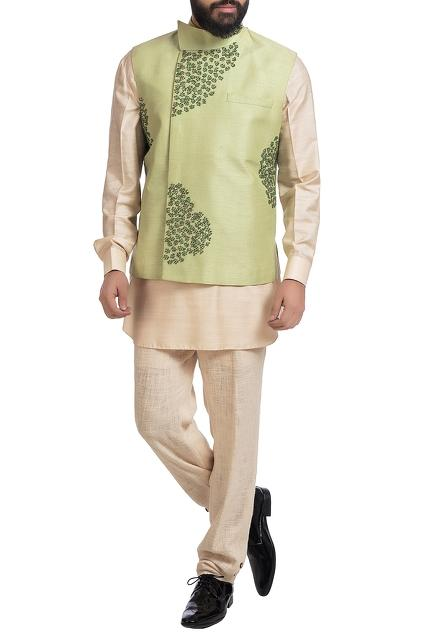 Latest Collection of Nehru Jackets by Poonam Kasera