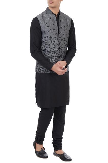 Latest Collection of Nehru Jackets by Vivek Karunakaran