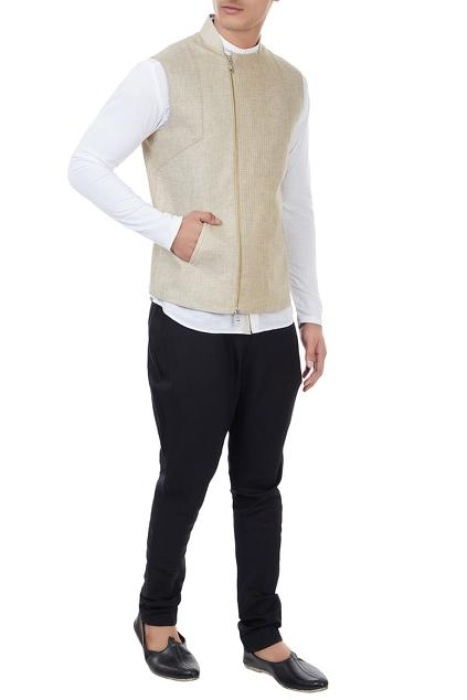 Latest Collection of Nehru Jackets by Vivek Karunakaran