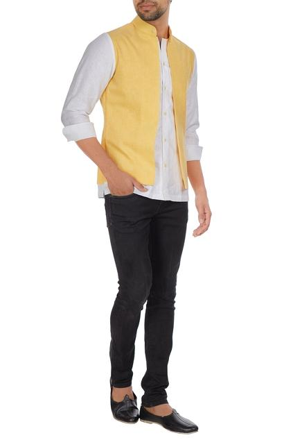 Latest Collection of Nehru Jackets by ADORN HIS by Tushi and Vaibhav