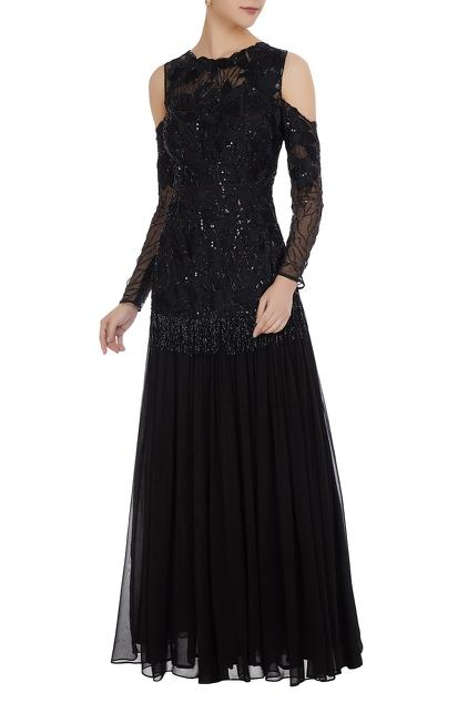 Latest Collection of Gowns by Mani Bhatia