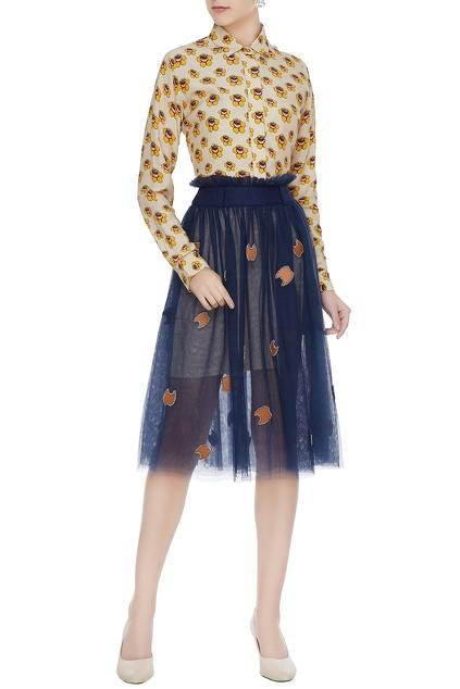 Latest Collection of Skirts by Dhruv Kapoor