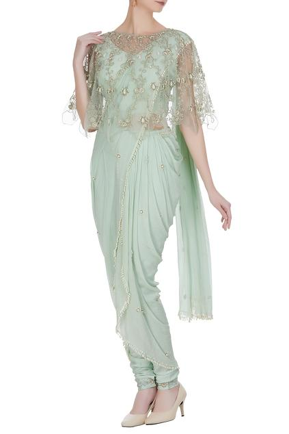 Latest Collection of Saris by Varsha Wadhwa