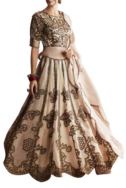 Latest Collection of Lehengas by Shasha Gaba