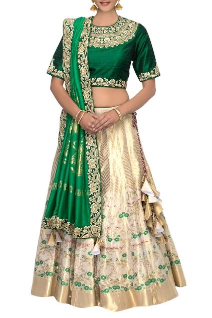 Latest Collection of Lehengas by Asha Gautam