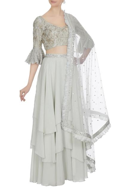 Latest Collection of Skirt Sets by Ritika Mirchandani