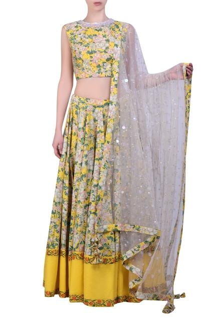 Latest Collection of Lehengas by Nikasha