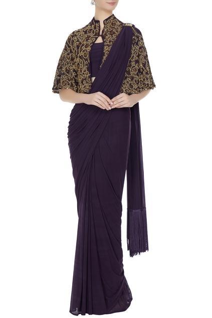Latest Collection of Saris by Pooja Rajpal Jaggi