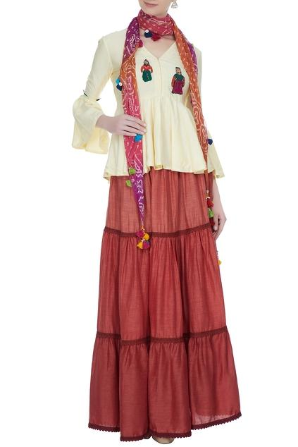 Latest Collection of Skirt Sets by Shuchi VC