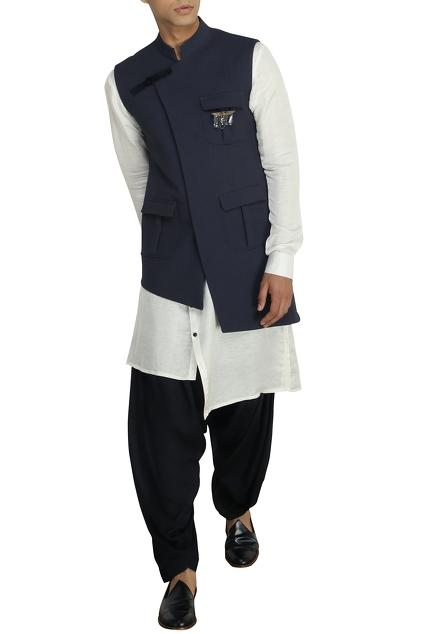 Latest Collection of Nehru Jackets by Qbik - Men