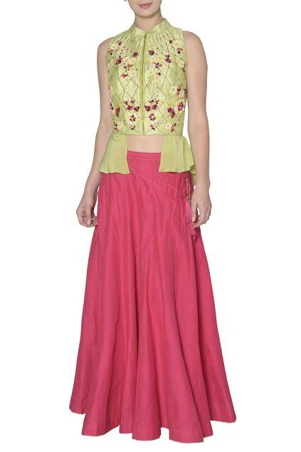 Latest Collection of Skirt Sets by 5X by Ajit Kumar
