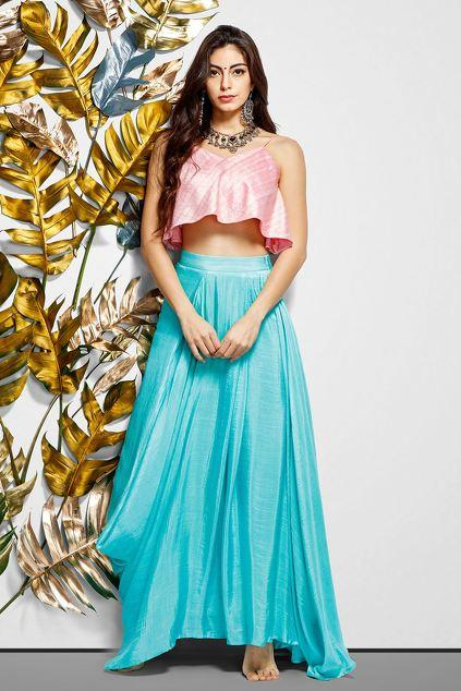 Latest Collection of Skirt Sets by Vedika M