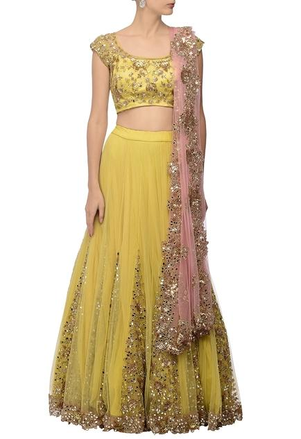 Latest Collection of Lehengas by Peppermint Diva