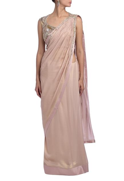 Latest Collection of Saris by Gaurav Gupta
