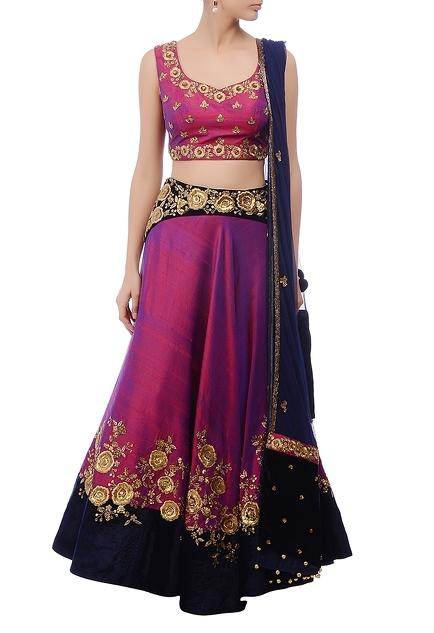 Latest Collection of Lehengas by Sawan Gandhi
