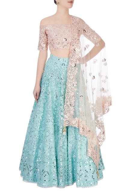 Latest Collection of Lehengas by Tamanna Punjabi Kapoor