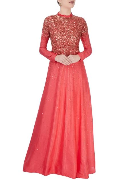 Latest Collection of Gowns by Vivek Kumar