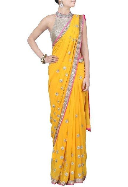 Latest Collection of Saris by Anushka Khanna