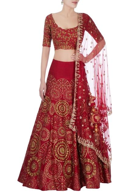 Latest Collection of Lehengas by Gazal Gupta
