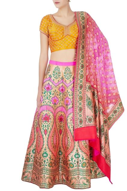 Latest Collection of Lehengas by Naina Jain