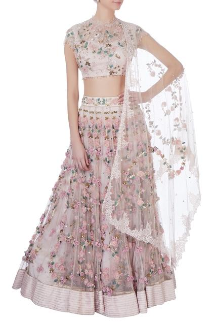 Latest Collection of Lehengas by Abhishek Vermaa