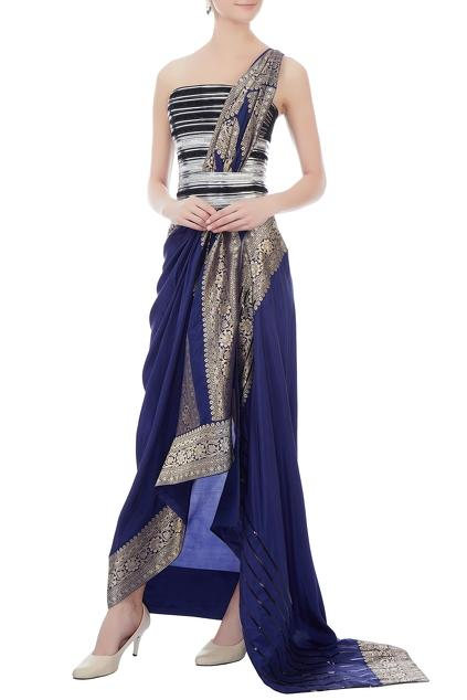 Latest Collection of Saris by Amit Aggarwal