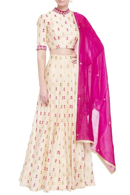 Latest Collection of Lehengas by SVA
