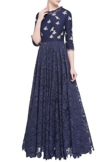 Latest Collection of Gowns by Garo by Priyangsu & Sweta