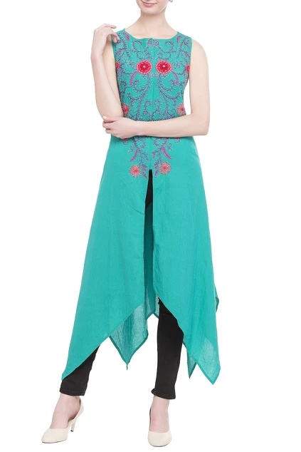 Latest Collection of Tunics & Kurtis by Surendri By Yogesh Chaudhary