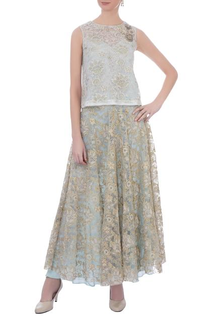 Latest Collection of Skirt Sets by Kavita Bhartia