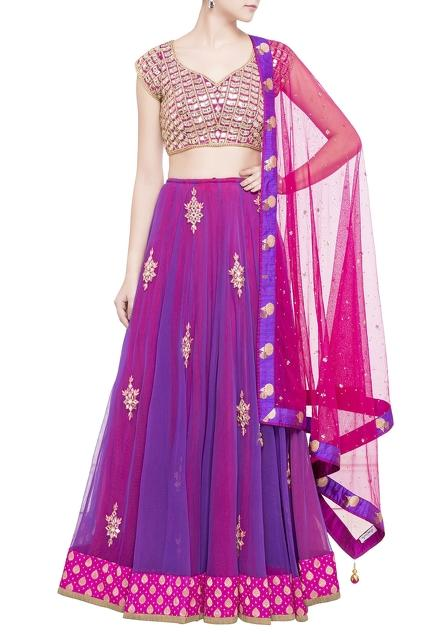 Latest Collection of Lehengas by Arpan Vohra