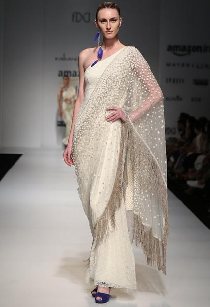 Latest Collection of Saris by Rabani & Rakha