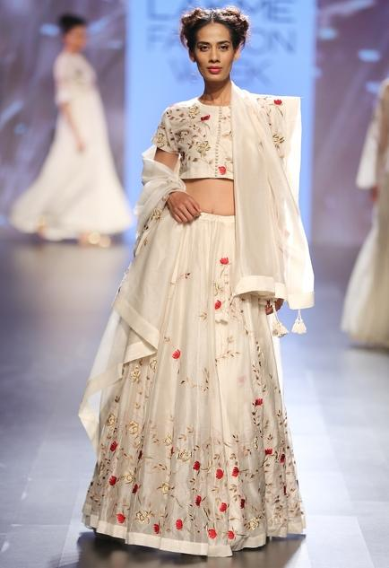Latest Collection of Lehengas by PRAMA by Pratima Pandey