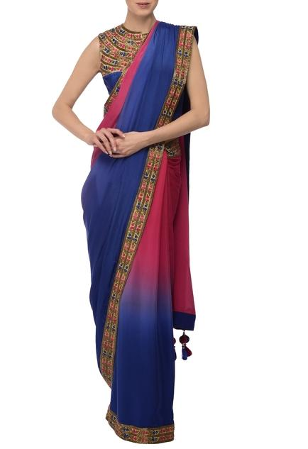 Latest Collection of Saris by Bhanuni By Jyoti
