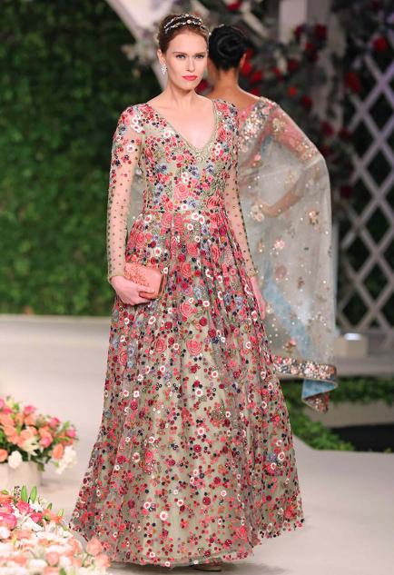 Latest Collection of Gowns by Varun Bahl