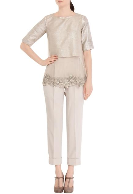 Latest Collection of Pant Sets by Ridhi Mehra