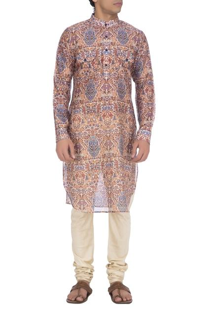 Latest Collection of Kurtas by Pranay Baidya - Men