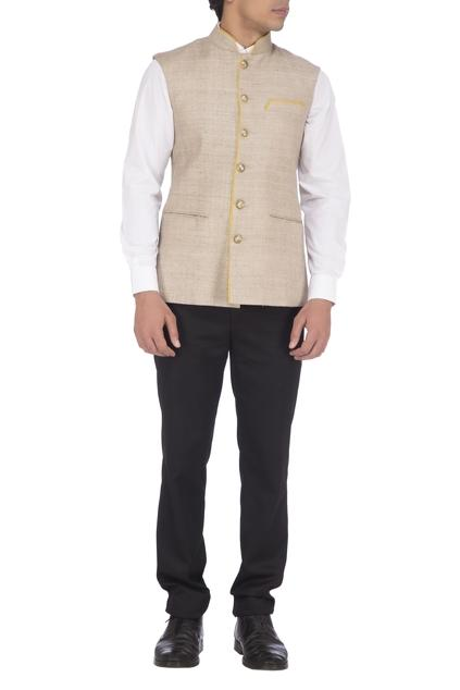 Latest Collection of Nehru Jackets by Pranay Baidya - Men