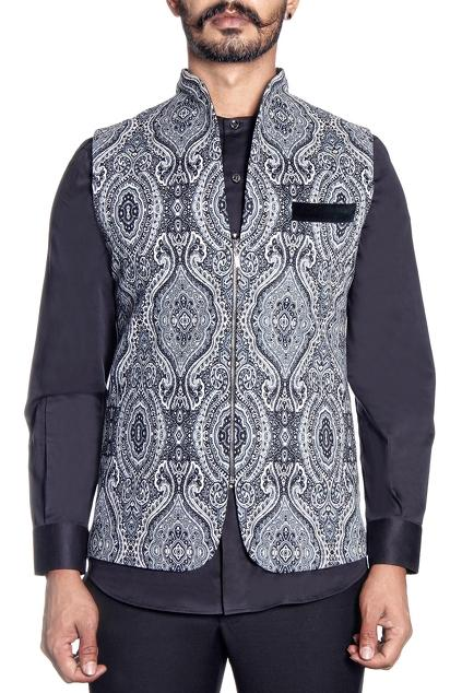 Latest Collection of Nehru Jackets by Paresh Lamba