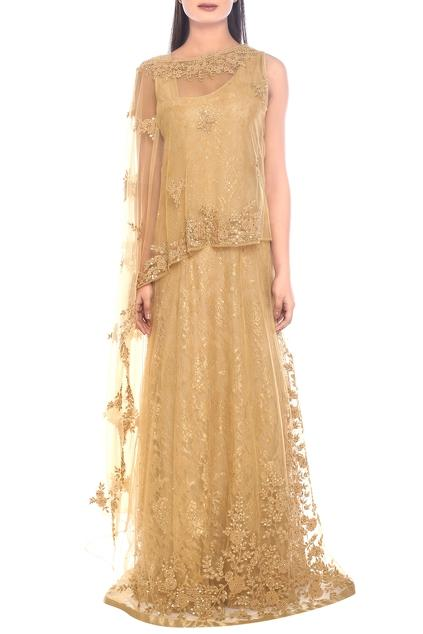 Latest Collection of Gowns by Ritu Kumar